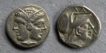 Ancient Coins - Mysia, Lampsakos Circa 300 BC, Diobol