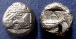 Ancient Coins - Lycia, Phaselis 530-500 BC, Stater