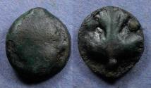 Ancient Coins - Sicily, Selinos 435-415 BC, Hexas