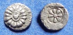 Ancient Coins - Ionia, Erythrai 480-450 BC, Silver Hemiobol
