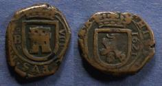World Coins - Spain, Philip IV 1621, 8 Maravedis