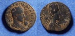 Ancient Coins - Mesopotamia, Edessa, Gordian III & Abgar X 238-244, Bronze AE23