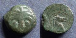 Ancient Coins - Zeugitania, Carthage 350-320 BC, AE17