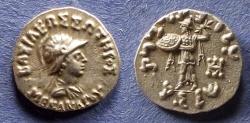 Ancient Coins - Bactrian Kingdom, Menander 165-130 BC, Drachm