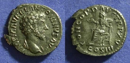 Ancient Coins - Marcus Aurelius 161-180 Denarius