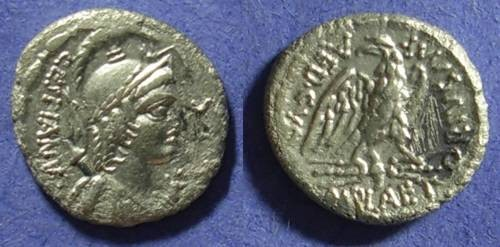 Ancient Coins - Roman Republic, M Plaetorius M f Cestianus, Denarius 67BC