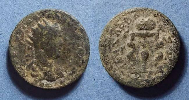 Ancient Coins - Roman Anazarbus Cilicia, Valerian (?) 253-260, AE25 Tri Assaria