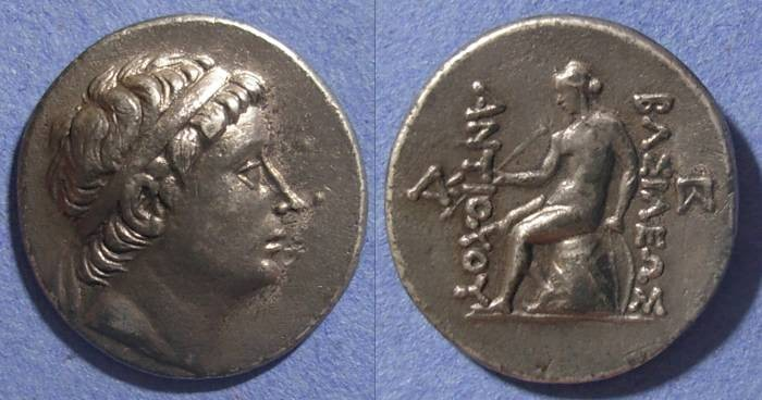 Ancient Coins - Seleucid Kingdom, Antiochos III 223-187 BC, Tetradrachm