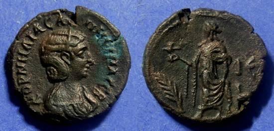 Ancient Coins - Roman Egypt Salonina 253-268 Tetradrachm