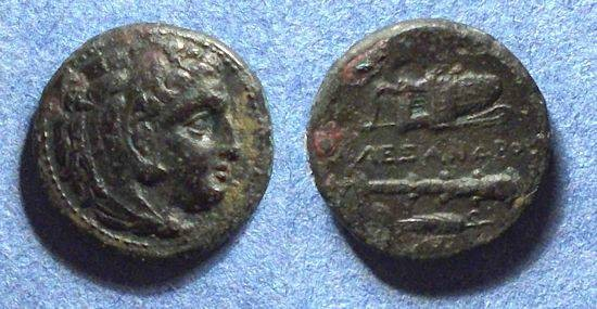 Ancient Coins - Maceedonian Kingdom, Alexander III Struck 323-19 BC, AE18