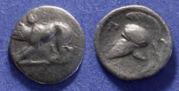 Ancient Coins - Argos, Argolis 343-280 BC, Trihemiobol