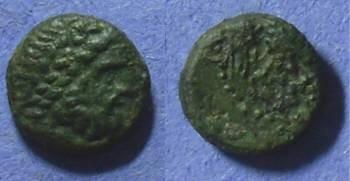 Ancient Coins - Velia Lucania, Circa 300 BC AE11