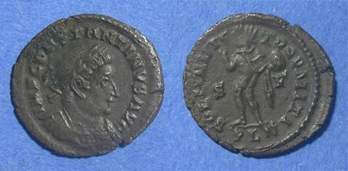 Ancient Coins - Roman Empire, Constantine 307-337, 22mm