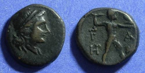 Ancient Coins - Olympia Elis 220-190 BC AE16