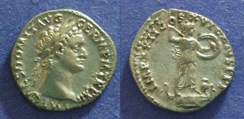 Ancient Coins - Roman Empire, Domitian 81-96 AD, Denarius
