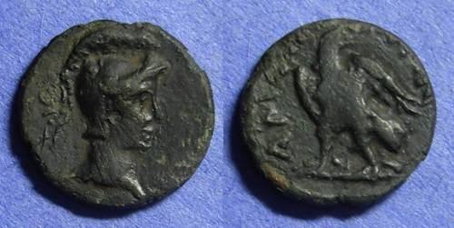 Ancient Coins - Amphipolis Macedonia AE18 – Circa 50BC