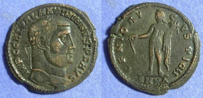 Ancient Coins - Galerius (as Augustus) 305-311 Follis