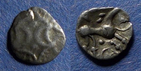 Ancient Coins - Celtic Britian, Iceni 10-43(?), Half unit