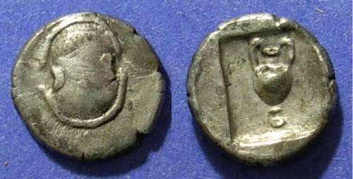 Ancient Coins - Boeotia, Federal Coinage 304-294 BC, Hemidrachm
