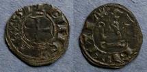 Ancient Coins - Frankish Greece, Achaea, Charles of Anjou 1278-1285, Denier Tournois