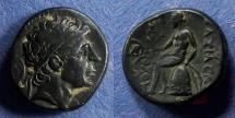 Ancient Coins - Seleucid Kingdom, Antiochos I 280-261 BC, AE15.5