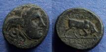 Ancient Coins - Seleucid Kingdom, Seleukos I 312-280 BC, AE17