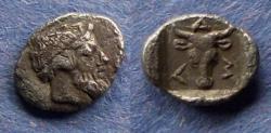 Ancient Coins - Troas, Lamponeia Circa 350 BC, Obol