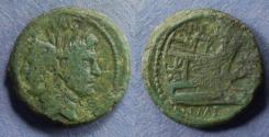 Ancient Coins - Roman Imperatorial, Sextus Pompey 42-38 BC, Aes