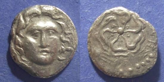 Ancient Coins - Rhodes,  88-43 BC, Drachm