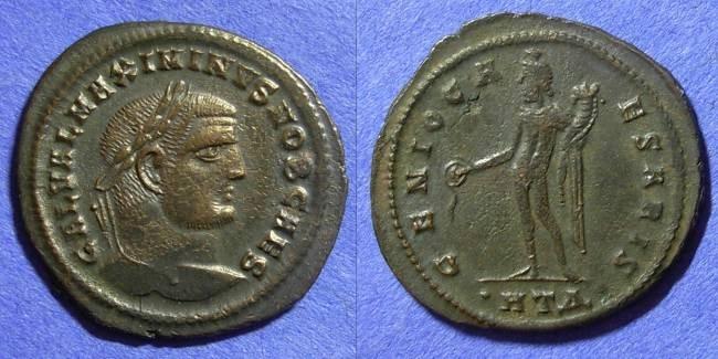 Ancient Coins - Roman Empire – Maximinus II (Caesar) 305-308 Follis