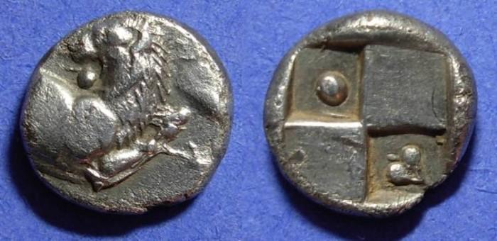 Ancient Coins - Chersonesos Thrace - Hemidrachm 400-350 BC