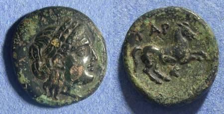 Ancient Coins - Troas, Gargara Circa 350 BC, AE17