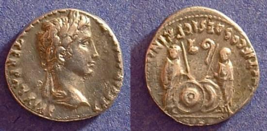 Ancient Coins - Augustus 27BC-14 AD Denarius