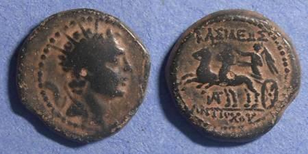 Ancient Coins - Seleucid Kingdom, Antiochos IV 175-164 BC, AE19