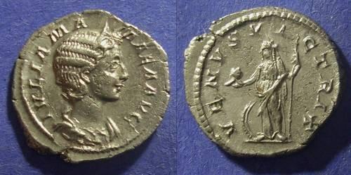 Ancient Coins - Roman Empire, Julia Mamaea 222-235 AD, Denarius