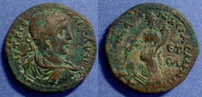 Ancient Coins - Severus Alexander 222-235 - AE35 of Amasia Pontos