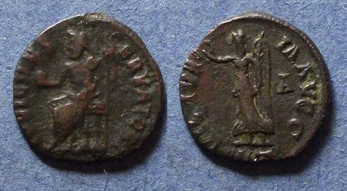 Ancient Coins - Roman Empire, Anonymous (Maximianus II) 311-2 AD, Quarter Follis