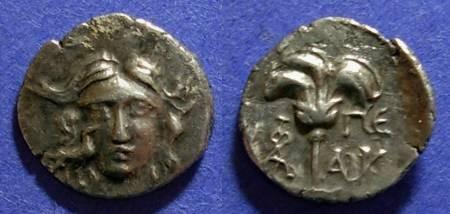 Ancient Coins - Mylasa, Caria Circa 150 BC, Rhodian Drachm