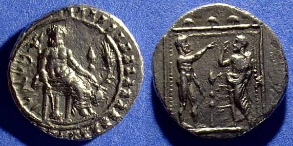 Ancient Coins - Datames - Satrap in Cilicia and Cappadocia - 378-362BC  Stater - Tarsos Cilicia