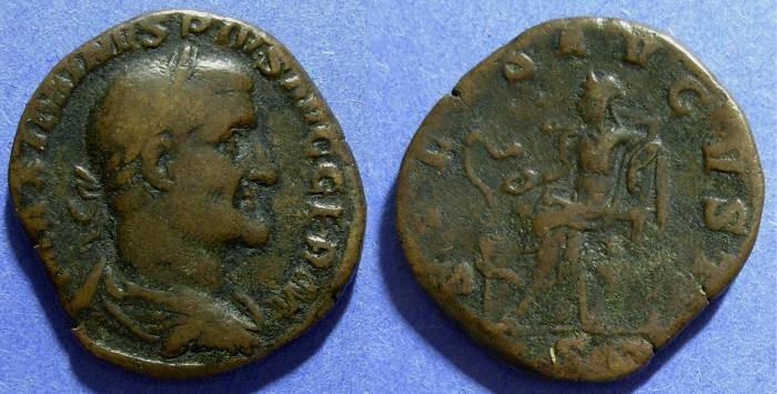 Ancient Coins - Roman Empire, Maximinus 235-8, Sestertius