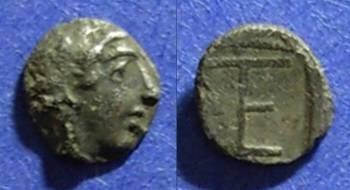 Ancient Coins - Kolophon, Ionia 450-410 BC, Tetartemorion
