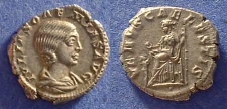 Ancient Coins - Julia Soaemias (Mother of Elagabalus) Denarius 218-222 AD