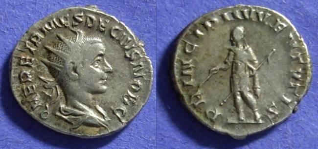 Ancient Coins - Herennius Etruscus (as Caesar) 250-1 Antoninianus
