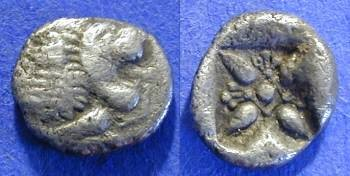 Ancient Coins - Miletos Ionia 1/12 Stater circa 500 BC