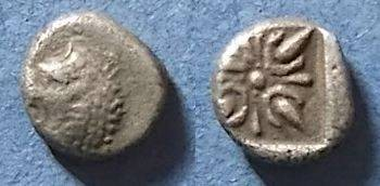 Ancient Coins - Miletos, Ionia Circa 500 BC, Diobol