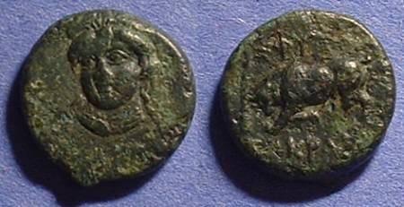 Ancient Coins - Phygela Ionia - AE13 Circa 350BC