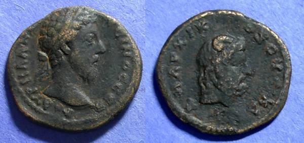 Ancient Coins - Roman Caesarea, Marcus Aurelius 161-180, AE 25