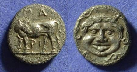 Ancient Coins - Parion Mysia - Hemidrachm 350-300BC