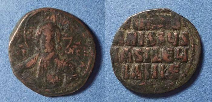Ancient Coins - Byzantine Empire, Anonymous (Constantine VIII) 1025-8, Follis
