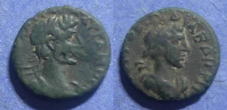 Ancient Coins - Abdera Thrace, Hadrian 117-138 BC, AE15